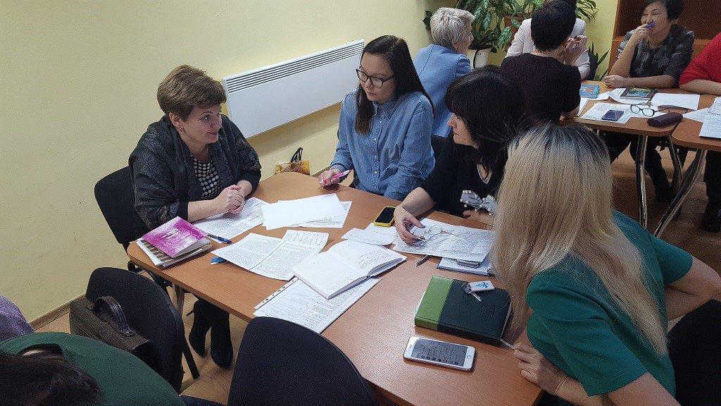Заседание открытой предметной кафедры учителей  гуманитарного цикла