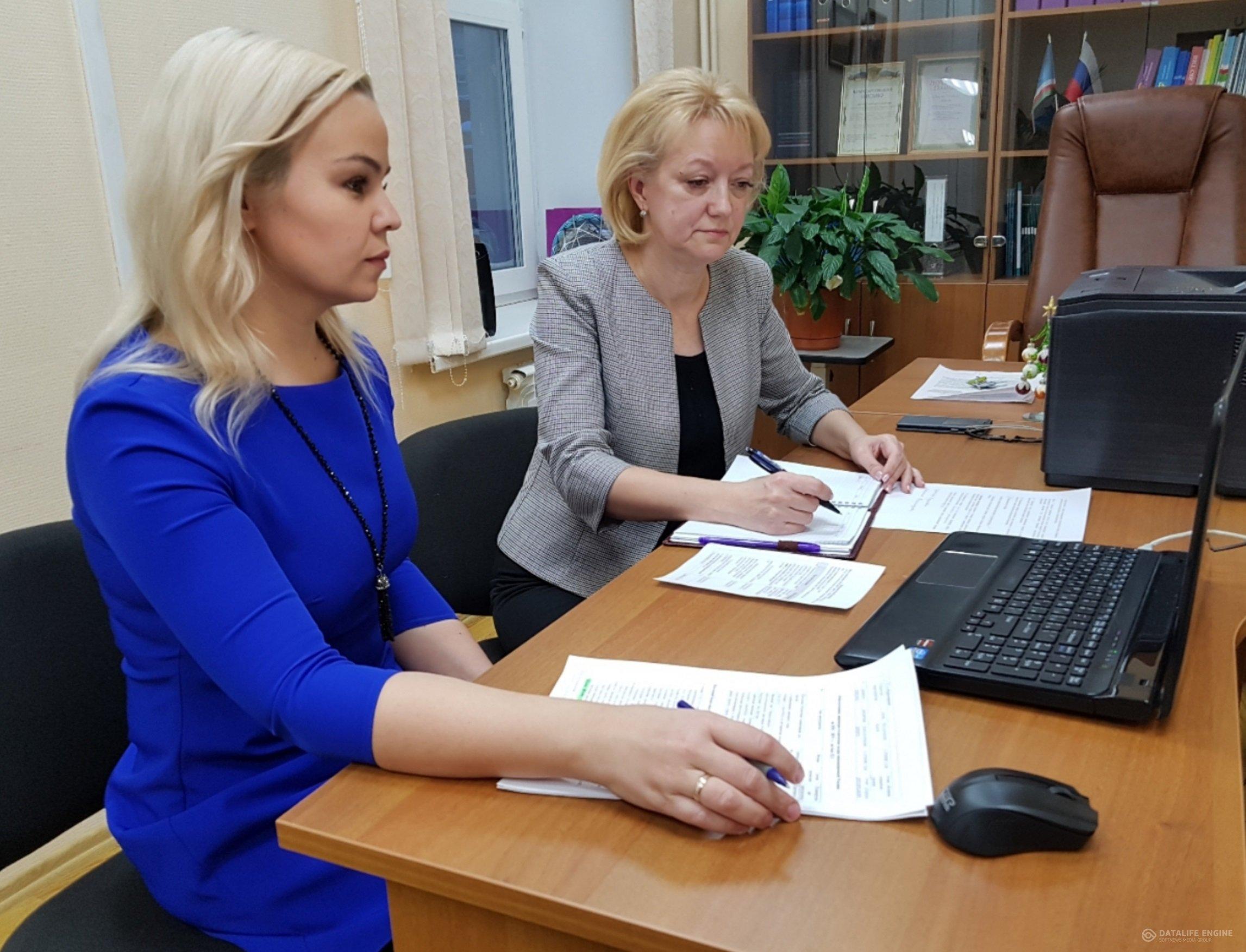 Прошел первый онлайн-репорт руководителей МИП