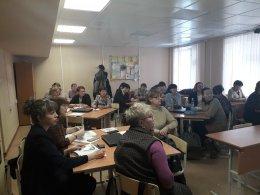 Прошло заседание руководителей школьных методических объединений.